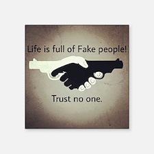 Trust noone Sticker