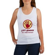Left Handed Super Power Tank Top