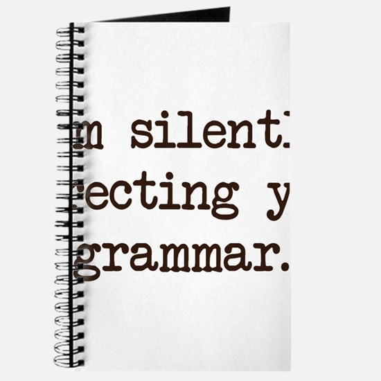 Im Silently Correcting Your Grammar. Journal