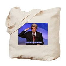 KERRY REPORTING FOR DUTY Tote Bag