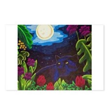 Night Panther Postcards (Package of 8)