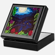 Night Panther Keepsake Box