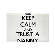 Keep Calm and Trust a Nanny Magnets