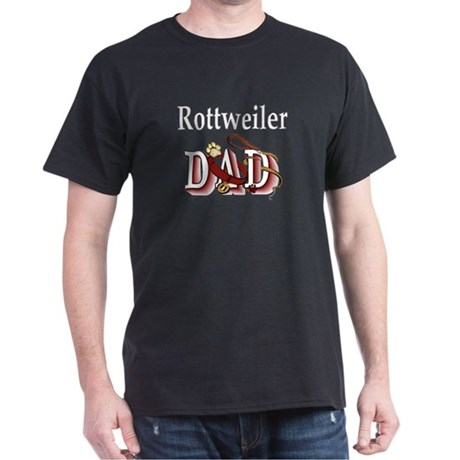 Rottweiler dad Dark T-Shirt