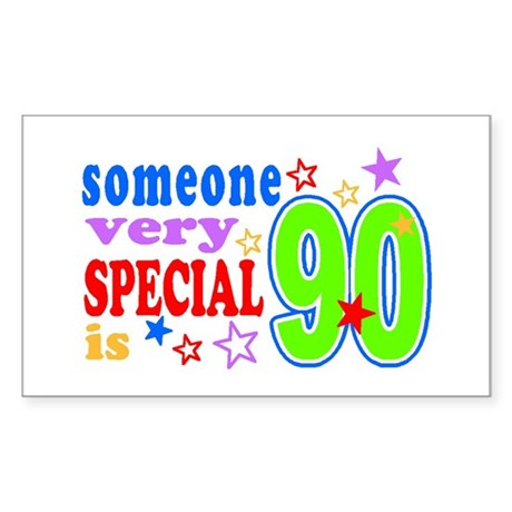 SPECIAL 90 Rectangle Sticker