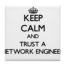 Keep Calm and Trust a Network Engineer Tile Coaste
