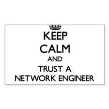Keep Calm and Trust a Network Engineer Decal