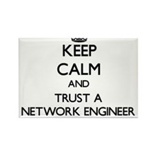 Keep Calm and Trust a Network Engineer Magnets