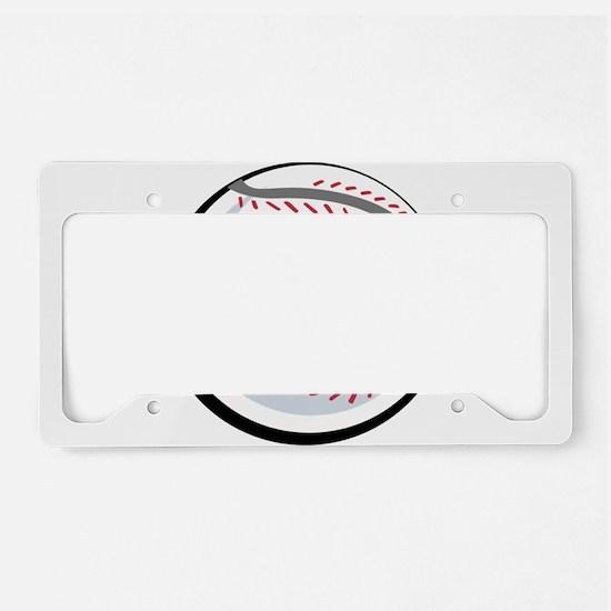 BASEBALL [1] License Plate Holder