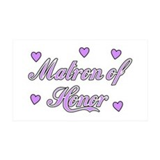 Matron of Honor Wall Decal