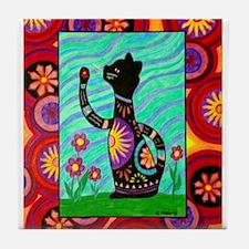 Sasha Kitty Tile Coaster