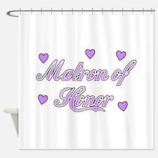 Matron of Honor Shower Curtain