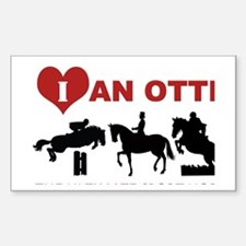 OTTB The Ultimate Sport Horse Decal