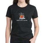Fueled by Cafe con Leche Women's Dark T-Shirt