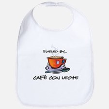 Fueled by Cafe con Leche Bib