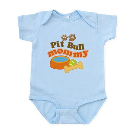Pit Bull Mom Infant Bodysuit
