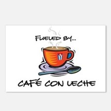 Fueled by Cafe con Leche Postcards (Package of 8)