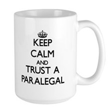 Keep Calm and Trust a Paralegal Mugs