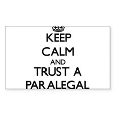 Keep Calm and Trust a Paralegal Decal