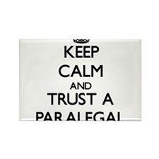 Keep Calm and Trust a Paralegal Magnets