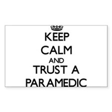 Keep Calm and Trust a Paramedic Decal