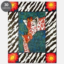 Mother And Baby Giraffe Puzzle