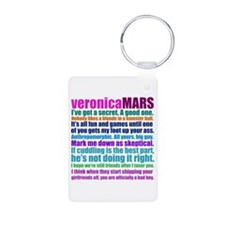 Veronica Mars Collage Aluminum Photo Keychain