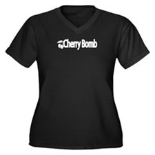 Cherrybombwhite Plus Size T-Shirt