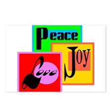 Peace Joy Love/ Postcards (Package of 8)
