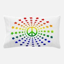 Peace Burst Pillow Case