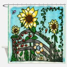 The Sunflower Garden Shower Curtain