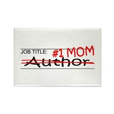 Job Mom Author Rectangle Magnet