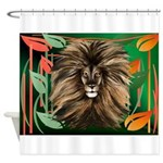 Cheetah In The Aloes Shower Curtain