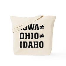 Iowa Ohio Tote Bag