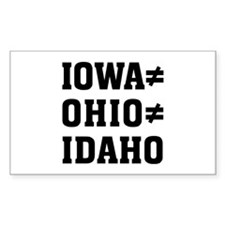 Iowa Ohio Stickers