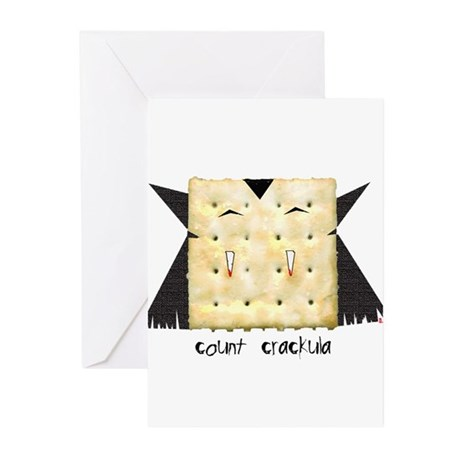 count crackula Greeting Cards (Pk of 10)