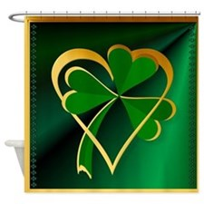 I Love St. Patricks Shower Curtain