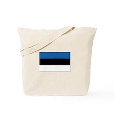 Flag of Estonia - NO Text Tote Bag