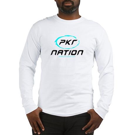 PKR Poker Nation Long Sleeve T-Shirt