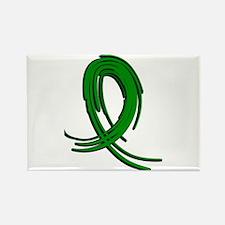 Spinal Cord Injury Graffiti Ribbo Rectangle Magnet