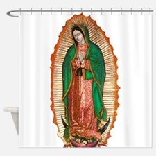 Guadalupe2.psd Shower Curtain