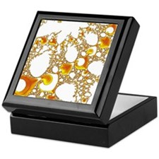 special fractal 04 orange SF Keepsake Box