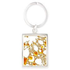 special fractal 04 orange SF Keychains