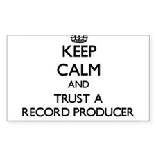 Keep Calm and Trust a Record Producer Decal