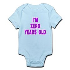 Im Zero Years Old! Body Suit