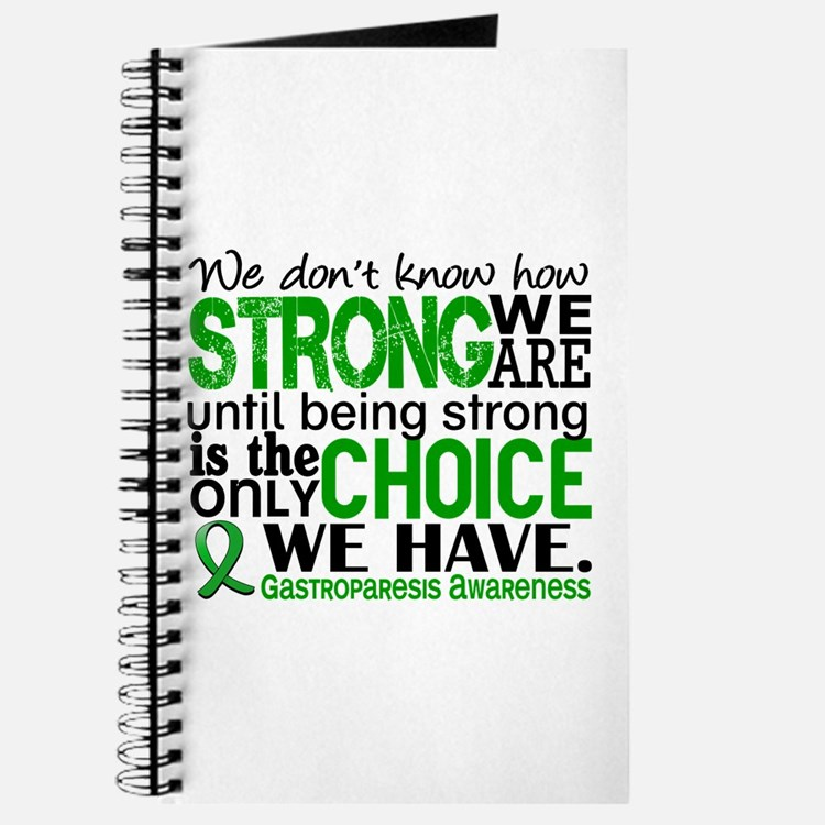 Gastroparesis How Strong We Are Journal