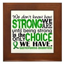 Gastroparesis How Strong We Are Framed Tile