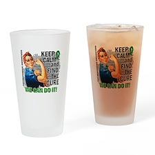 Gastroparesis Rosie Keep Calm Drinking Glass