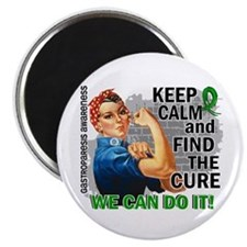Gastroparesis Rosie Keep Calm Magnet