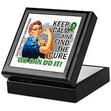 Gastroparesis Rosie Keep Calm Keepsake Box